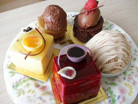 【ケーキ】オーボンヴュータン