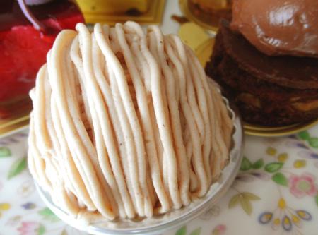 【ケーキ】オーボンヴュータン「モンブラン」