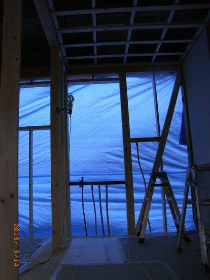 加工所の天井