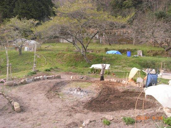 庭作りスタート
