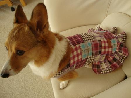 マーブルママ作の服