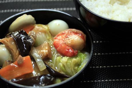 中華丼弁当4