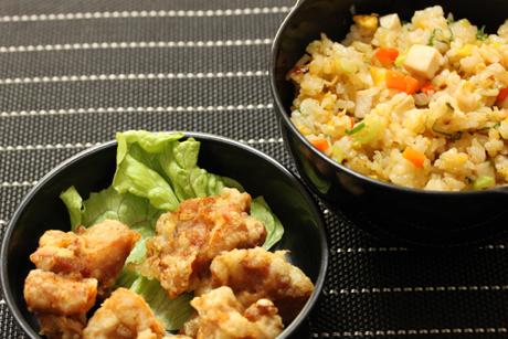 鶏ハム炒飯