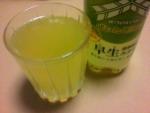 アサヒ飲料「ぜいたく三ツ矢 佐賀県産早生みかん」