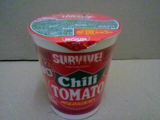 日清食品「カップヌードル レッドチリトマトヌードル」