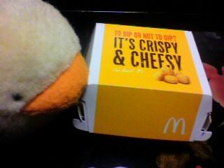 マクドナルド「チーズポテトディップ」
