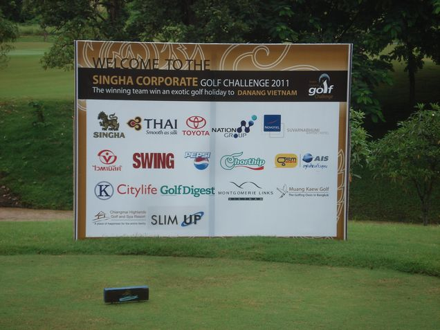 SINGHA CORPORATE GOLF CHALLENGE 2011