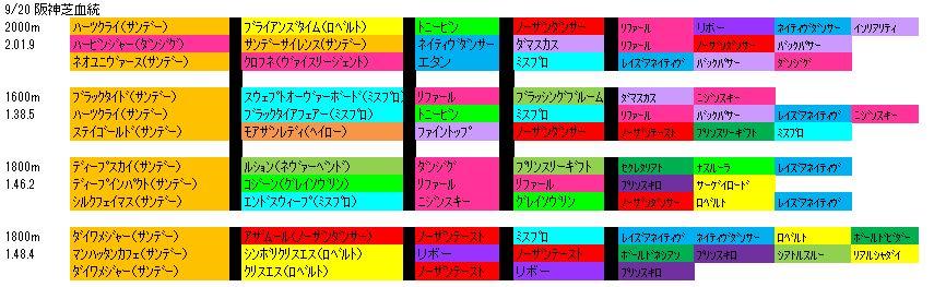 9/20阪神芝