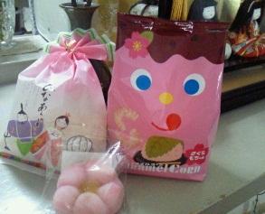 2012雛祭りお菓子