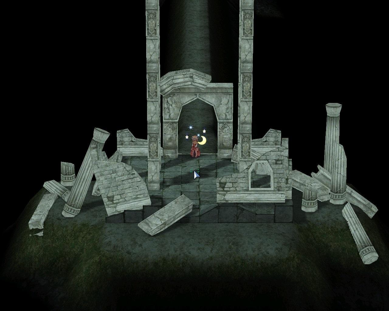 オーディン神殿調査 地下神殿