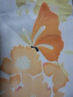 2,7蝶模様昼夜帯・表CA092GZD