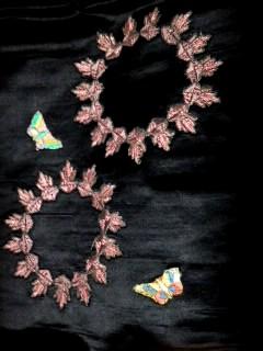 2,7蝶模様昼夜帯・裏CAOCD7MX