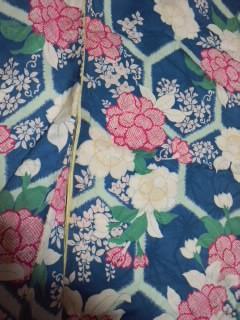 4,3桜と牡丹の小紋CAXY8J4M