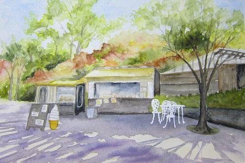 ガーデンのカフェ