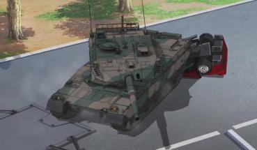 10식전차10式坦克戰車육상자위대日本陸上自衛隊 Girls und Panzer걸즈 판처少女坦克 Type10 MBTJapan Ground Self Defense Force, JGSDF