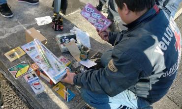 2013年 KROG東海ミーティング 朝霧高原ドライブインもちや コーンフレーク早食い大会