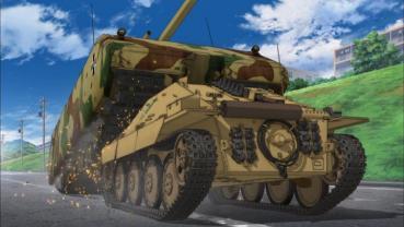 """マウス VS ヘッツァー 第12話 「あとには退けない戦いです!」 EP12 """"A fierce battle"""" Girls und Panzer"""