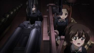 『ガールズパンツァー』 (GIRLS und PANZER)カメさんチーム(生徒会)38(t)戦車改ヘッツァー角谷杏(かどたにあんず)小山柚子(こやまゆず)河嶋桃(かわしまもも)