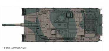 10式戦車1/35 タミヤ ガールズパンツァー(GIRLS und PANZER)
