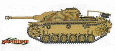 アオシマ ドラゴンモデルズ 1/35  Ⅲ号突撃砲1944年12月生産型 stug.III ausf