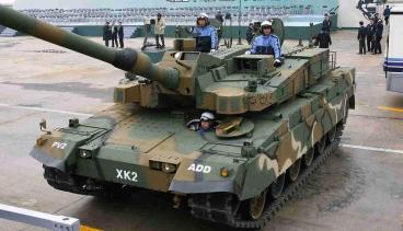 K2戦車 (KNMBT, Korean New Main Battle Tank)黑豹(차기전차 K2 흑표)Black Panther大韓民国