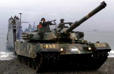 88전차 (Republic Of Korea Indigenous Tank-ROKIT)Korea_Forces Type88 K1_MBT