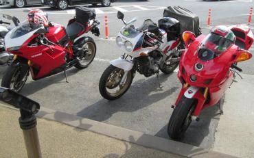佐野サービスエリア 東北自動車道 Ducati 1098(Superbike)999