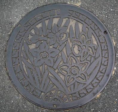 愛しのマンホール127・熊本県宇城市(旧下益城郡小川町)