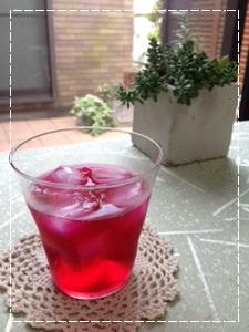 赤ジソのジュース