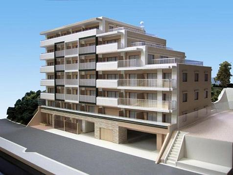 建築模型 マンション 画像