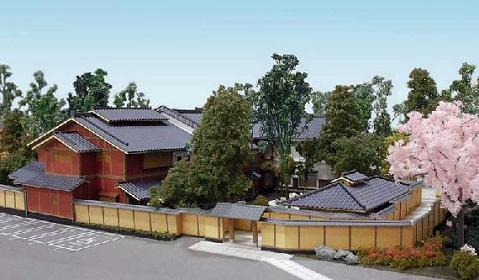 建築模型 日本家屋 画像