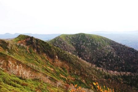 秋の紅葉登山 (16)