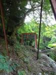 愛宕山下山と月輪寺10
