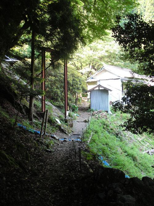 愛宕山下山と月輪寺08