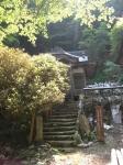愛宕山下山と月輪寺14