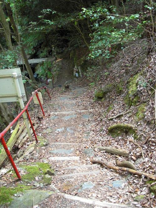 愛宕山下山と月輪寺25