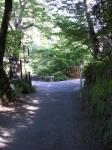 愛宕山下山と月輪寺35