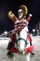 サンタ誘導馬 3