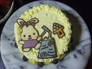 十五夜ケーキ