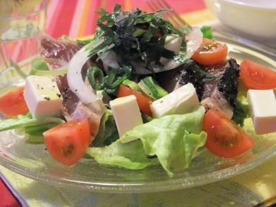 カツオのたたきのイタリアンサラダ(400)