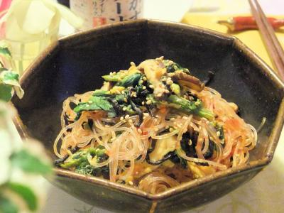 食べるラー油で具だくさん春雨サラダ(400)