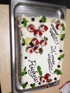 リッキーズクリスマスイベントのケーキ.JPG