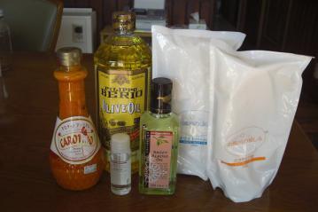 オリジナル石鹸 油種類