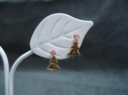 クリスマスツリーピアス 済