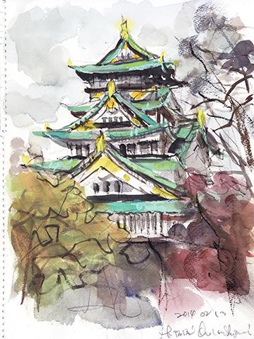 20140213 大阪城