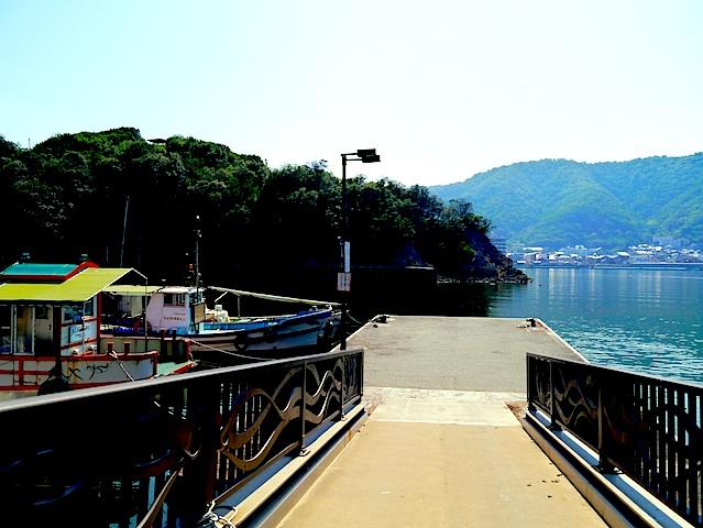 仙酔島桟橋4