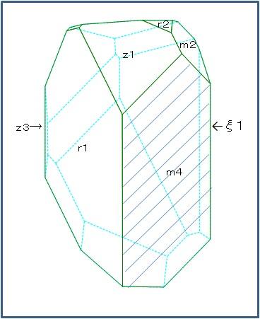 トパズに見える水晶2