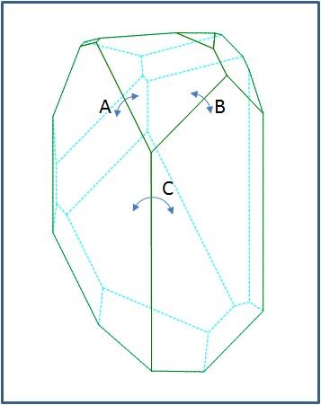 トパズに見える水晶3