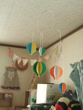 気球モビール
