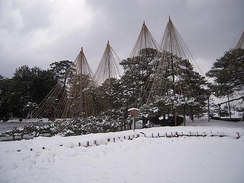 兼六園豪雪①